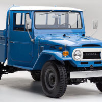 Beautifully restored Toyota Land Cruiser pickup needs good home