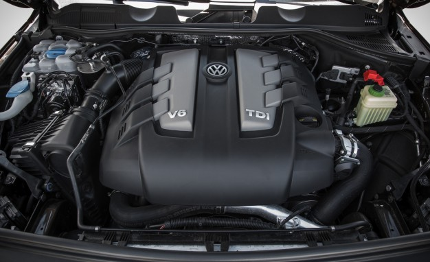 2015 Volkswagen Touareg TDI turbocharged 3.0-liter V-6 diesel engine