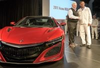 First Serial Production 2017 Acura NSX Rolls Off The Line