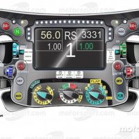The secrets of the Mercedes F1 steering wheel