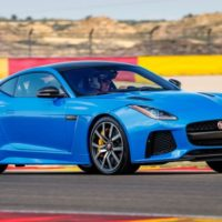 2017 Jaguar F-type SVR Driven Sideways: 575 Horsepower and One Big Wing