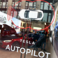 Tesla hopes existing tech improves its semi-autonomous driving