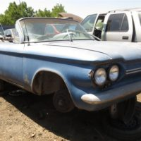 Junkyard Gem: 1964 Chevrolet Corvair convertible