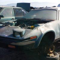 Junkyard Gem: 1980 Triumph TR7