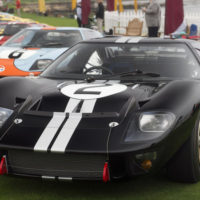 Classic Ford GT40s were out in force at Pebble Beach