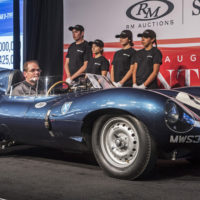 1955 Jaguar D-Type that won Le Mans sets $21.78 million record price at auction