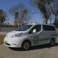 Nissan's Fuel-Cell Car Hits the Road in Brazil, Extracts Hydrogen from Biofuel