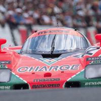Mazda just restored the 787B's forgotten older brother