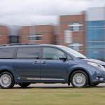 2016 Toyota Sienna AWD – Instrumented Test