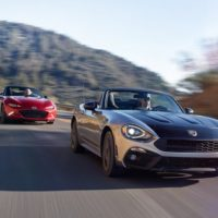 Attack of the Clones: Fiat 124 Spider Abarth vs. Mazda MX-5 Miata!