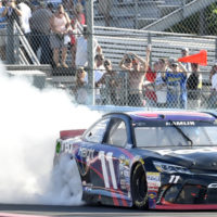 NASCAR says excessive burnouts could disguise cheating