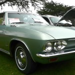 A Corvair is another staple on the LeMons show circuit.