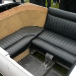 Its third door accessed luxurious, wraparound rear seating.