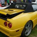 This mid-engine Ferrari apparently got lost on the way to Concorso Italiano.