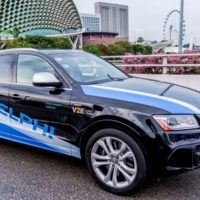 Delphi launches autonomous car test program in Singapore