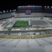 How Bristol Motor Speedway was turned into a football stadium