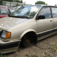 Junkyard Gem: 1990 Dodge Colt Vista