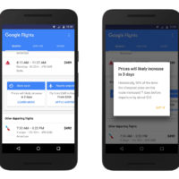 Google Flights adds price-tracking notifications