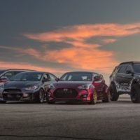 Hyundai Gets in the SEMA Spirit with Spiced-Up Elantra, Veloster, Santa Fe Concepts