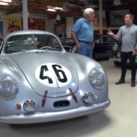 Jay Leno takes a ride in Porsche's very first race car