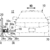 Weird Honda patent shows robot arm to charge an EV while driving