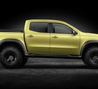 Mercedes-Benz Concept X-Class ? First Outlook On The New Pickup Bearing The Three-Pointed Star