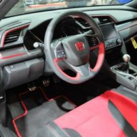 Red Label: Honda Civic Type R Prototype Interior Looks Ready for Takeoff