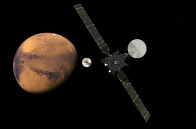 European Space Agency will try to put its 1st lander on Mars today