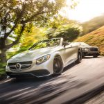 2017 Mercedes-AMG S63 cabriolet and 2017 Bentley Continental GT