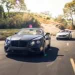 2017 Bentley Continental GT V8 S convertible and 2017 Mercedes-A