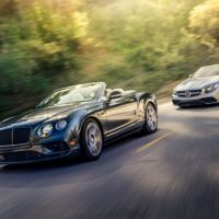 Yacht Rock: Bentley Continental GT Convertible vs. Mercedes-AMG S63 Cabriolet