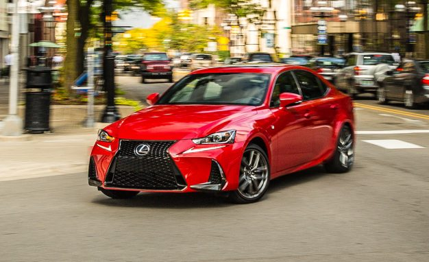 2017 lexus is200t f sport tested fresh style and tech bangastang. Black Bedroom Furniture Sets. Home Design Ideas