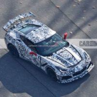 2018 Corvette Stingray ZR1 Spied Flaunting Its Insane Aero Package