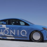 Hyundai Ioniq Hybrid plus nitrous equals FIA speed record