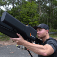 Anti-drone gun takes down targets from 1.2 miles away