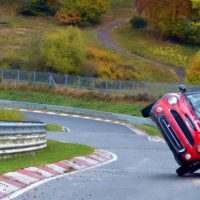 This Mini just set a very long Nurburgring lap record