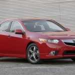 When Acura introduced the TLX for 2015, it replaced both the TSX and TL sedans in one fell swoop. A few TSXs, however, were still hanging around this year, despite the model having ended production after the 2014 model year. A multiple-time 10Best winner in its first generation, the TSX stayed somewhat in our good graces after a redesign—in no small part because it offered a wagon variant starting in 2010. Alas, the TSX wagon is gone for good now, with Acura's hot-selling crossovers, the MDX and the RDX, now in its stead.