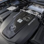 2018 Mercedes-AMG GT R twin-turbocharged 4.0-liter V-8 engine