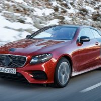 Two-Door Decadence: We Go for a Ride in the Next Mercedes-Benz E-class Coupe
