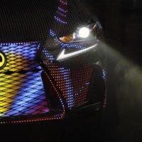 Lite-Brite Lexus: 2017 IS Sedan Dons 41,999 LEDs