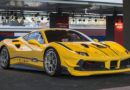 The Ferrari 488 Challenge is the one-make series' first turbo car