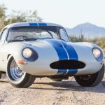 At Bonhams on Thursday of Arizona auction week, this Jaguar topped the sales for this year while setting the record for the most money ever paid for an E-type at auction. As you might expect for a sale price nearly 50 times what your run-of-the-mill 100-point concours-condition '63 XKE would fetch (Hagerty says that's $ 163,000), this one was special. The tenth built among 12 aluminum-bodied lightweight competition specials, it was driven to the 1963 Australian GT championship by Bob Jane. It's had only three owners over 54 years and shows only 4000 miles on its odometer. Experts say it's as close to its original state as any lightweight E-type extant. It sold to a telephone bidder, so no one could see the buyer's face when the hammer fell. Presumably he was relieved that he no longer had the burden of that 7 mill burning a hole in his pocket. —Kevin A. Wilson