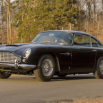 Barrett-Jackson sold 1703 of the 1711 vehicles it offered over seven days of Scottsdale sales this year. This Aston Martin brought the most money of them all. Every mid-1960s Aston is achingly desirable, but this one is extra special because of its uncommon left-hand-drive steering layout that catered to its first owner, who lived in France. This beauty is powered by its original 4.0-liter inline-six engine and also wears its factory black-on-black color scheme, which helps set it apart from the images of James Bond's silver DB5 that are etched into so many car nuts' psyches. The sale included the owner's manual, tool kit, and jack, as well as a hammer for the knockoff chrome wire wheels. —Rusty Blackwell