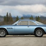 A striking blue-over-red color combination and a long, sleek body help this '65 Ferrari stand out. The gorgeous red leather interior was installed during a 2005 restoration; originally, the car had blue cloth upholstery. The exterior was this same Azzurro blue when the first owner, Ross Cortese—the developer of the cutting-edge (for the time) Leisure World retirement community near Los Angeles—purchased it after it was in coachbuilder Pininfarina's production facility for nine months once Ferrari provided the chassis. In the mid-1970s, the car was owned by the founder of the New Orleans Saints, oil heir John Mecom, Jr. More recently, Hollywood executive and producer John Calley—whose credits include films such as The Exorcist, The Birdcage, Closer, and The Da Vinci Code—owned the car. We'd feel rich and famous just being in control of the car's 400-hp 5.0-liter V-12. —Rusty Blackwell