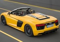 Audi Of America Drops The Top On The All-New 2017 R8 V10 Spyder