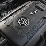 2017 Volkswagen Golf 1.8T TSI turbocharged 1.8-liter inline-4 engine