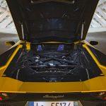 2017 Lamborghini Aventador S 6.5-liter V-12 engine