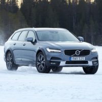 Ice Capades: Volvo V90 Cross Country Driven in Sweden's Frozen North