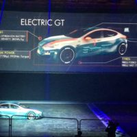 Electric GT's Tesla Model S racecar does 0-62 in 2.1 seconds
