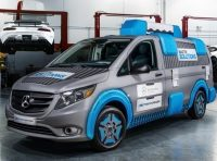 The Mercedes-Benz Metris MasterSolutions Toolbox Concept Showvan